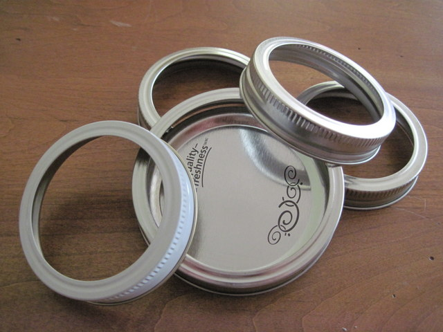 Canning Rings and Lids