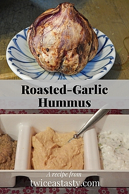 Hummus may be mainstream, but homemade is still a treat. I get more requests for made-from-scratch hummus than any other creation at events. Learn to roast garlic and make Roasted-Garlic Hummus.