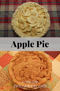 """Grandma Tiny's pie crust was heaven—and impossible to replicate. That's why my recipe is just """"nearly"""" perfect. Learn to make Nearly Perfect Pie Crust and Apple Crumble Pie."""