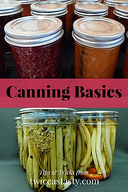 When people think of preserving food, they generally think of canning and its beautiful, shelf-stable jars that you can pop open and eat any time of year. Learn more canning basics.