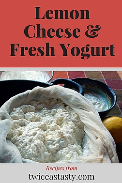 Queso blanco, panir, ricotta, farm cheese, lemon cheese—they're the same cheese by different names and, like yogurt, surprisingly simple and easy to make. Learn to make Lemon Cheese and Fresh Yogurt.