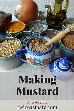 Mustard was my favorite condiment from an early age; I just didn't know it was easy to make. Learn to make Spicy German-Style Mustard and Hot Swedish-Style Mustard.