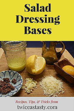 The salad dressing aisle at a grocery store baffles me: so long, so heavily preserved, so expensive—and so easy to make at home. Learn to make Vinegary and Creamy Salad Dressing Bases.
