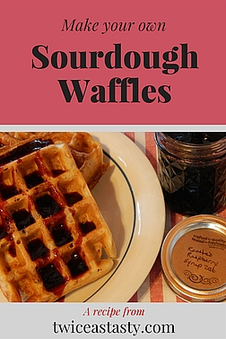 When you play with sourdough, you quickly discover bread is just one of many possible creations—and not necessarily the easiest. Learn to make Sourdough Pancakes and Sourdough Waffles.