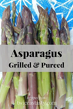 My favorite way to eat asparagus is grilled. Thick or thin, you can capture that grilled flavor and enjoy it year-round. Learn to grill asparagus and make Grilled Asparagus Puree.