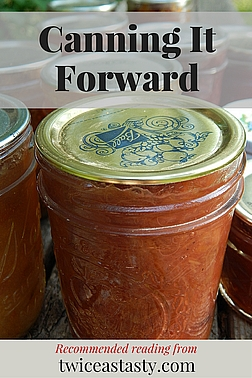 This blog is just one small voice in the world of home preserving, and much of my inspiration began with other voices. Read more about my favorite recipes from other sources.