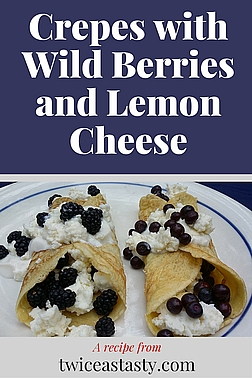 Dole out your wild berries in small doses. Get recipes for Crepes with Wild Berries and Lemon Cheese and Rhubarb–Huckleberry Galette at TwiceasTasty.com.
