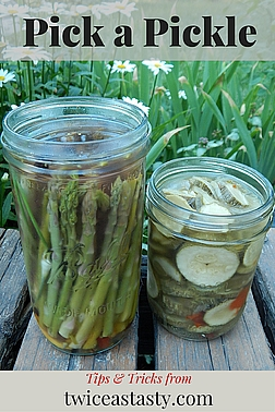 Besides preserving any vegetable, various techniques let you pickle everything from a single cucumber to a box of cukes, flavored to fit any meal. Read more about quick and easy pickling.