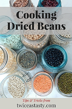 People seem to have a love it or leave it relationship with beans. If you love them, you've probably had them cooked right. Read more about cooking beans.