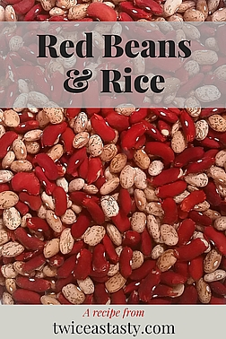 Put the most flavor in your beans. Get Seasoned Pot Beans and Red Beans and Rice recipes at TwiceasTasty.com.