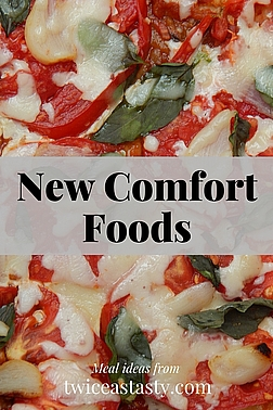 Instead of satisfying, comfort foods might make us feel guilty or even queasy. Learn how to change that at TwiceasTasty.com.