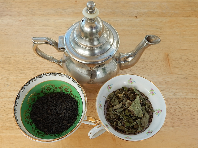 For me, traveling revived the family tradition of daily cups of tea. Learn to make Moroccan-Inspired Mint Tea and British and Russian Black Tea. Get tea recipes at TwiceasTasty.com.