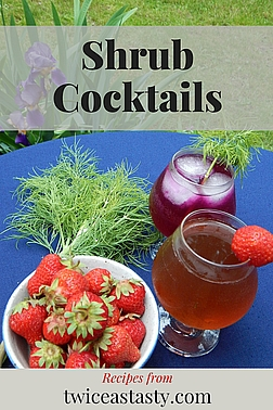 When you offer to pour a shrub, clearly you're not referring to the leafy bush. But what is a shrub? Get shrub and cocktail recipes at TwiceasTasty.com.