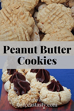 You'll fall for these peanut butter cookies that can be enjoyed year-round and dressed up for special occasions. Get cookie recipes at TwiceasTasty.com.