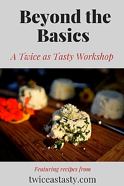 It only takes 3 ingredients to make an easy cheese in 30 minutes or less and only a few more ingredients and minutes to upscale your creation. Sign up to learn how at TwiceasTasty.com.