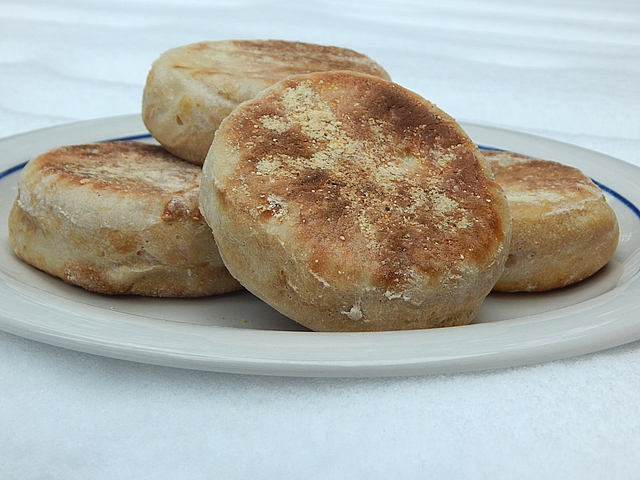 English muffins can combine tradition with the best aspects of sourdough and hollandaise. Get sourdough recipes at TwiceasTasty.com.
