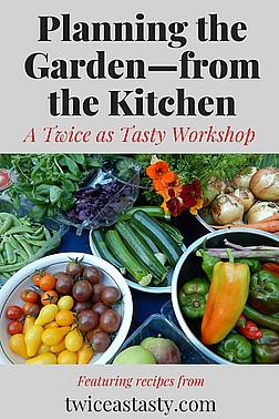 Decide what you should plant by considering the fruits and vegetables you buy regularly. Sign up at TwiceasTasty.com.