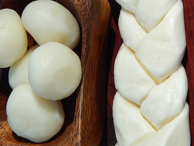 Mozzarella was the first cheese I learned to make and use. Get cheese-making recipes at TwiceasTasty.com.