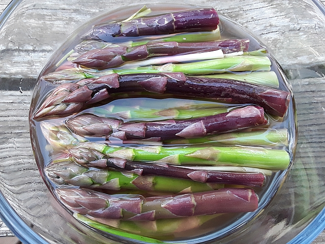At some point, even I run out of ways to eat fresh asparagus. That's when I turn to brine. Get pickling recipes at TwiceasTasty.com.