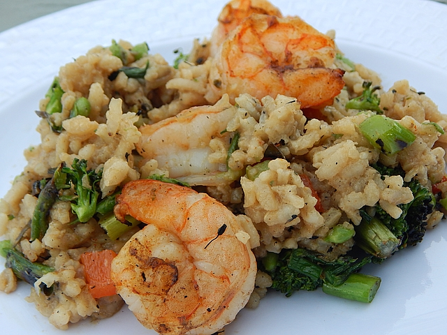 Make-ahead risotto rice holds a regular slot on my dinner menu. Get risotto recipes at TwiceasTasty.com.