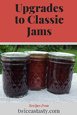I've turned from my mom's classic recipes to more fruit-forward jams. Get homemade jam recipes at TwiceasTasty.com.