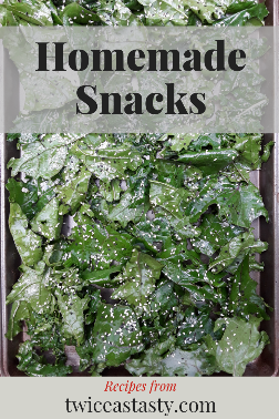 Crunchy cravings when you're not really hungry can be satisfied with simple home-baked snacks that are healthy and delicious. Get homemade snack recipes at TwiceasTasty.com.