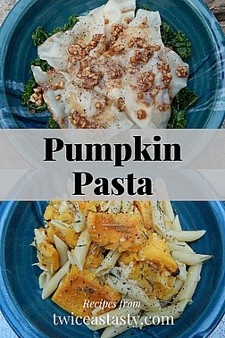 Pasta–pumpkin combinations are overlooked but fabulous weeknight or special meals. Get pumpkin pasta recipes at TwiceasTasty.com.