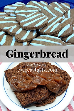 Get a healthy dose of ginger and find out why some baking old-time techniques still work. Get gingerbread recipes at TwiceasTasty.com.