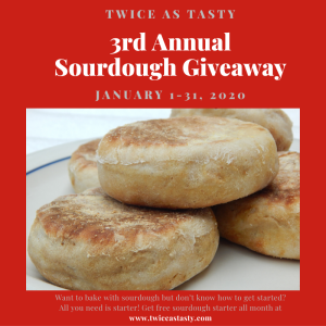 3rd Annual Sourdough Giveaway
