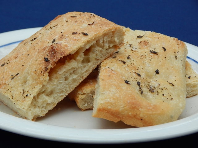Sourdough isn't traditional for focaccia, but it's one of the few sourdough breads you can cut and eat hot. Get focaccia recipes at TwiceasTasty.com.