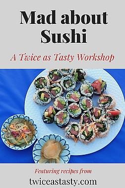 It's easier than you might think to roll your own sushi at home. Sign up to learn how at TwiceasTasty.com.