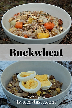 I've found many reasons to love buckwheat: it's gluten free, packed with protein, and easy to prepare. Get buckwheat recipes at TwiceasTasty.com.
