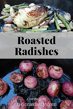 You can put the heat on unexpected spring vegetables, like lettuces and radishes. Get garden-to-oven recipes at TwiceasTasty.com.