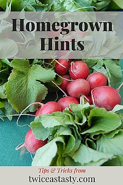 These gardening resources and ideas may help as you're getting your hands dirty. Learn more at TwiceasTasty.com.