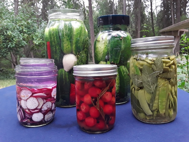 Pickling lets you extend the life of almost everything you grow. Learn more at TwiceasTasty.com.