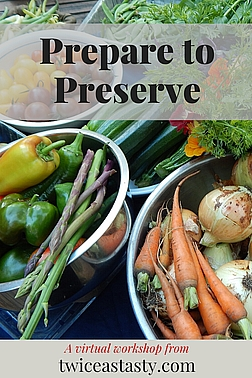 You know you're serious about preserving homegrown food when you start canning in your kitchen. Learn more at TwiceasTasty.com.