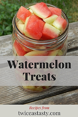 Melons' natural sweetness and juiciness make them ideal for refreshing desserts. Get watermelon recipes at TwiceasTasty.com.