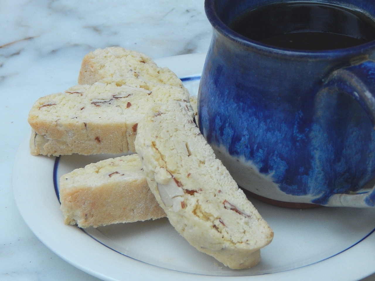 Biscotti pair well with tea, coffee, or even an evening alcoholic sipper. Get biscotti recipes at TwiceasTasty.com.