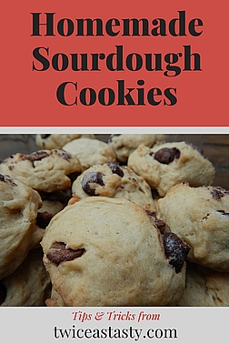 Putting sourdough starter in cookies bumps up against some problems, but you can solve them. Learn more at TwiceasTasty.com.