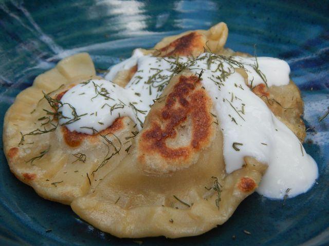 You say pot sticker, I say pierogi: It can be all one dough. Get dumpling recipes at TwiceasTasty.com.