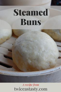 Homemade steamed buns make you wait, but your first bite is worth it. Get dumpling recipes at TwiceasTasty.com.