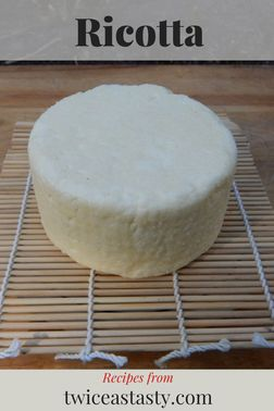 Enjoy ricotta fresh, or salt and age it to take the flavor to a new level. Get ricotta recipes at TwiceasTasty.com.