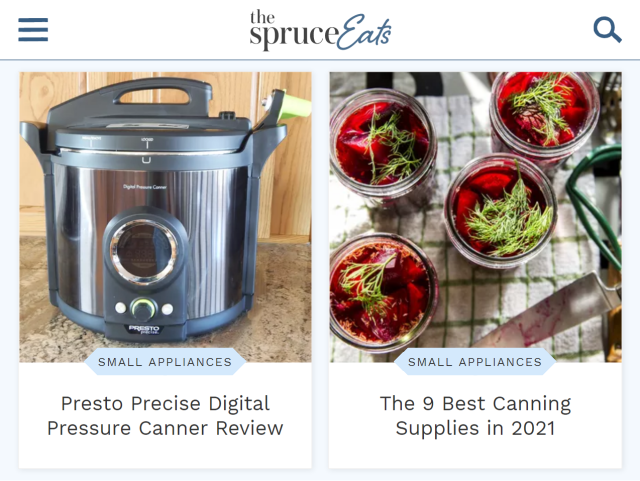 I've been testing the best pressure canners for The Spruce Eats. Learn more at TwiceasTasty.com.