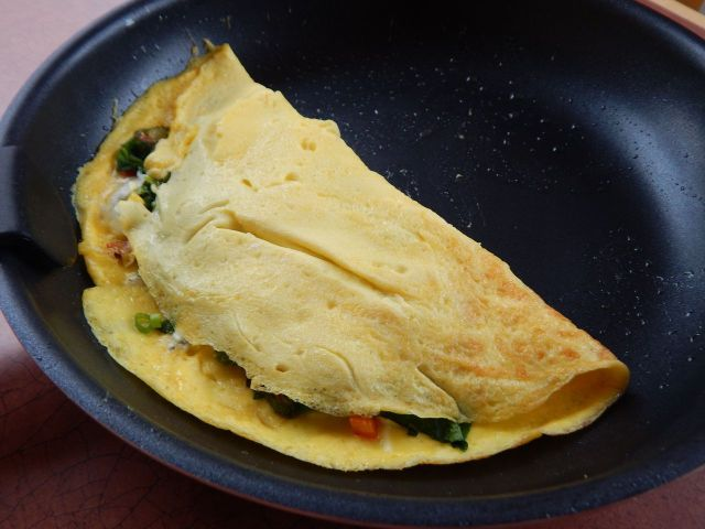 To put it simply: Testing cookware by cooking eggs is fun. Get cooked egg recipes at TwiceasTasty.com.
