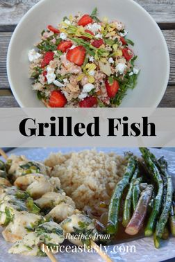 For an off-the-stovetop meal, I combine marinated fish with my favorite couscous trick. Get grilled fish recipes at TwiceasTasty.com.