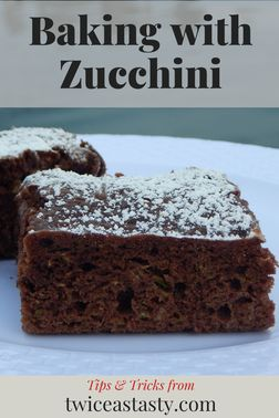 I've improved on one of Mom's staples for feeding zucchini to kids: chocolate cake. Get zucchini recipes at TwiceasTasty.com.