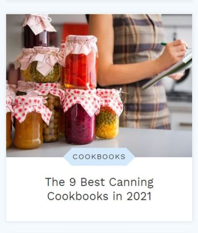 For my latest off-the-blog article, I delved deep into my canning cookbook collection. Learn more at TwiceasTasty.com.