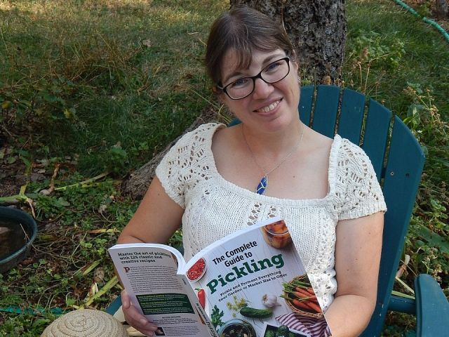 Julie Laing, author of The Complete Guide to Pickling