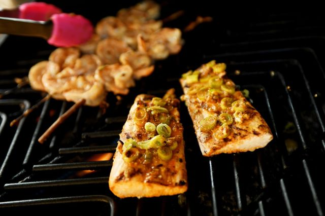 Grilled Chipotle Fish with Quick Salsa